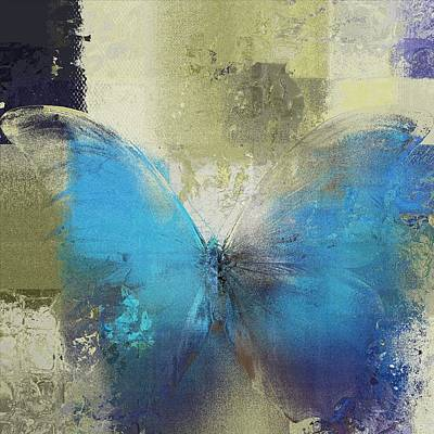 Butterfly Art - S01a Print by Variance Collections