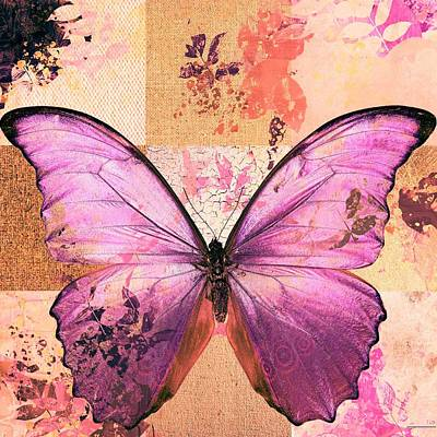 Butterfly Art - Sr51a Art Print by Variance Collections