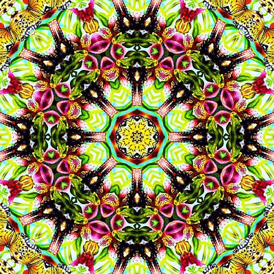 Digital Art - Butterfly Ball No 3 by Charmaine Zoe