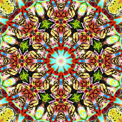 Digital Art - Butterfly Ball No 4 by Charmaine Zoe