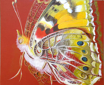 Painting - Butterfly Basic by Art Ina Pavelescu