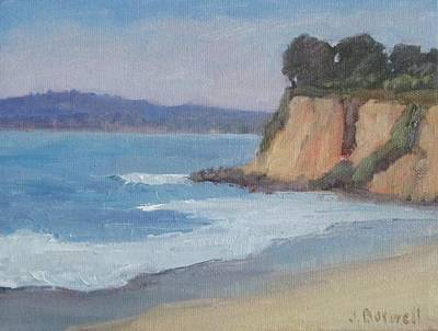 Butterfly Beach Afternoon Series 4 Art Print by Jennifer Boswell