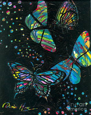 Painting - Butterfly Beauties by Denise Hoag