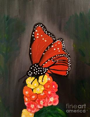 Painting - Butterfly by Brindha Naveen