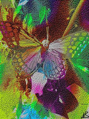 Butterfly By Nico Bielow Art Print by Nico Bielow