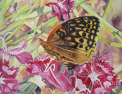 Painting - Butterfly by Carol Flagg