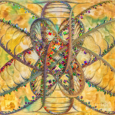 Generative Digital Art - Butterfly Concept by Deborah Benoit