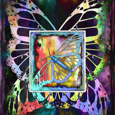 Digital Art - Butterfly Dreams by Kenny Francis