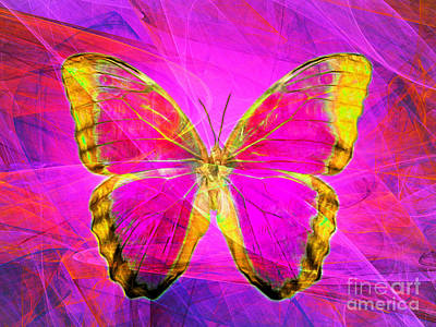 Photograph - Butterfly Dsc2969p120 by Wingsdomain Art and Photography