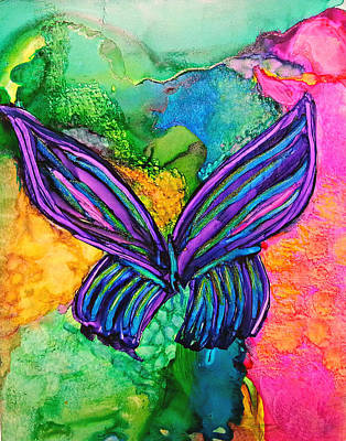 Painting - Butterfly Effect by Kelly Dallas