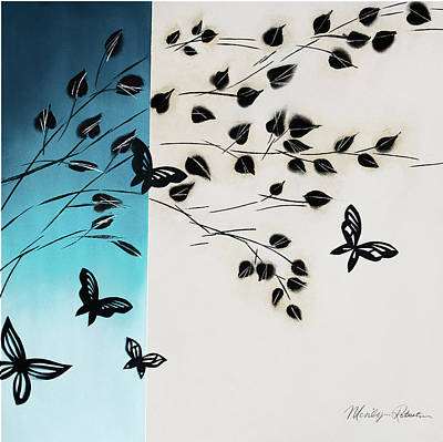 Butterfly Escape Art Print