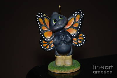 Photograph - Butterfly Figurine by Mark McReynolds
