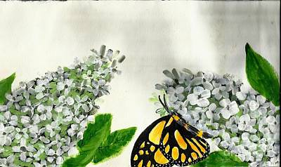 Painting - Butterfly by Francine Heykoop