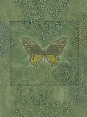 Alixandra Mullins Photograph - Butterfly Greens by Alixandra Mullins