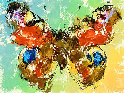 Digital Art - Butterfly Impression  by Yury Malkov