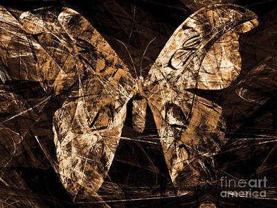 Photograph - Butterfly In Abstract Dsc2977or by Wingsdomain Art and Photography