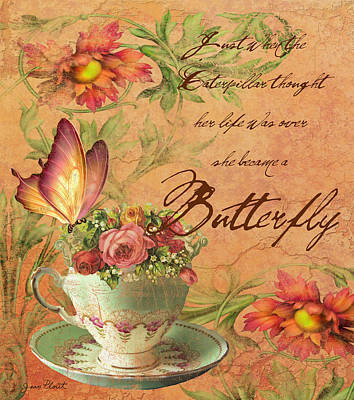 Butterfly Inspirations Original by Jean Plout