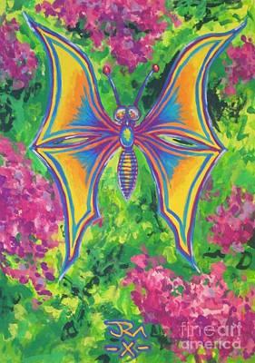 Butterfly Art Print by Jedidiah Morley