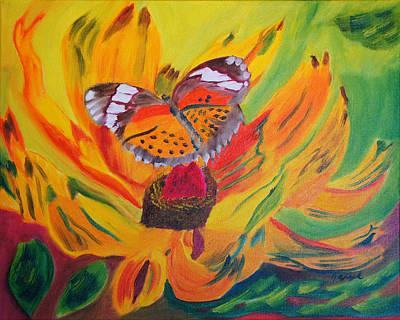 Butterfly Jungle Art Print
