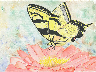 Painting - Butterfly Kisses by Dawn Marie Black