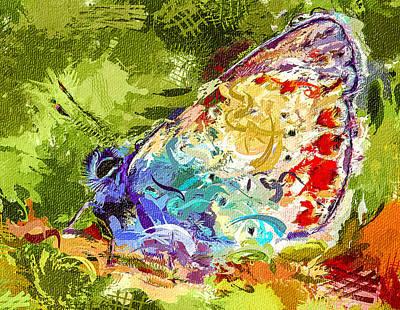 Digital Art - Butterfly Magic by Yury Malkov