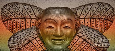 Digital Art - Butterfly Man by Georgianne Giese
