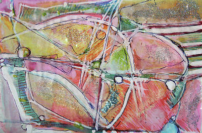 Painter Mixed Media - Butterfly Migration Route by Hari Thomas