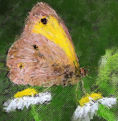 Digital Art - Butterfly On Digital by Yury Malkov