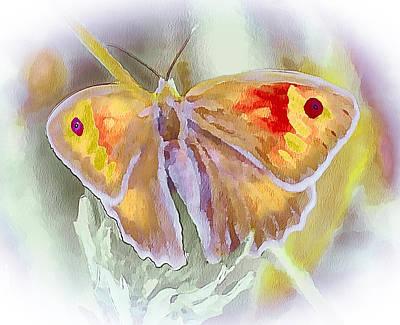 Digital Art - Butterfly On Flower 2 by Yury Malkov