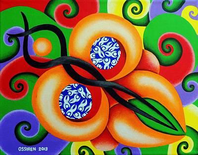 Butterfly Art Print by Oswaldo Cevallos