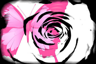 Butterfly Rose Original