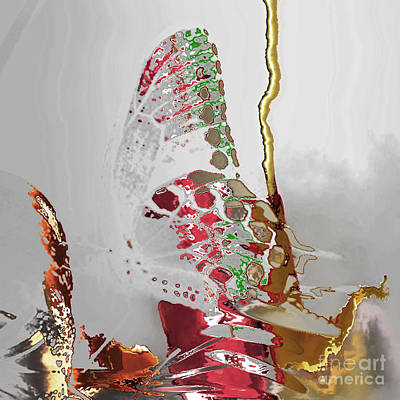 Digital Art - Butterfly by Soumya Bouchachi