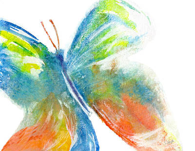 Painting - Butterfly by Stephanie  Kriza