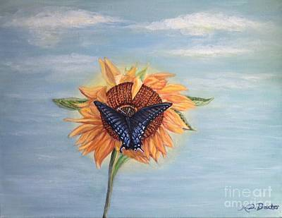 Butterfly Sunday Full Length Version Art Print