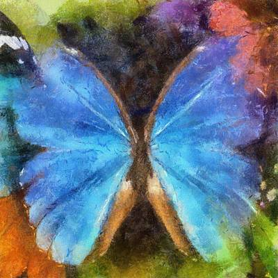 Mixed Media - Butterfly by T T
