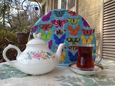 Photograph - Butterfly Tea Cozy by Shirin Shahram Badie