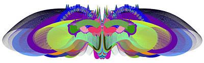 Butterfly - Ticker Symbol Csco Art Print by Stephen Coenen