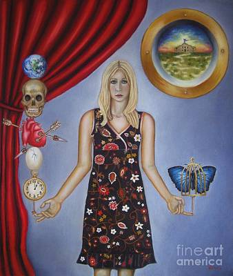 Surrealist Painter Mixed Media - Butterfly by Venus