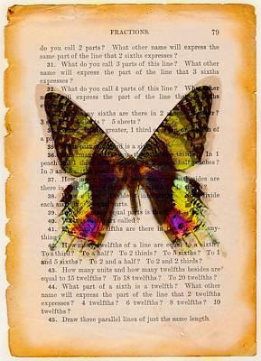 Digital Art - Butterflyrium  by Lilia D