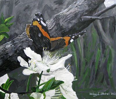 Painting - Butterfly's First Spring by Whitney Wiedner