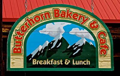 Photograph - Butterhorn Bakery by Jeff Gater