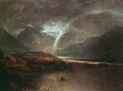 Mallord Turner Painting - Buttermere Lake With Part Of Crummockwater A Shower 1798 by J M W Turner