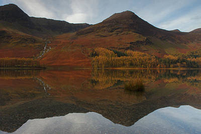 Photograph - Buttermere Reflections by Nick Atkin