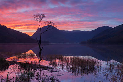 Photograph - Buttermere Sunrise by Nick Atkin