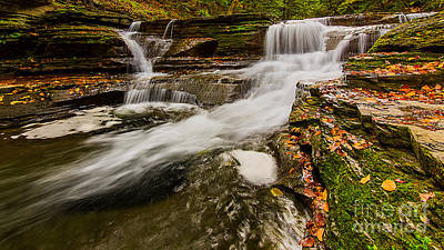 Photograph - Buttermilk Falls by Brad Marzolf Photography