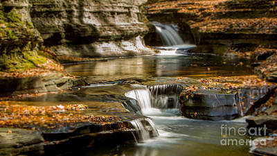 Photograph - Buttermilk Falls Gorge by Brad Marzolf Photography
