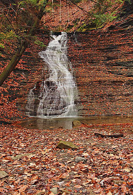 Buttermilk Falls Photograph - Buttermilk Falls by Marcia Colelli