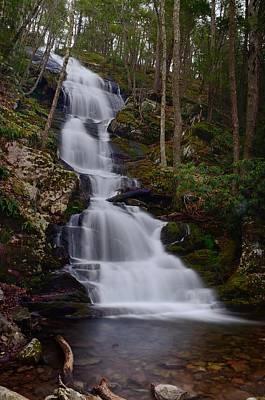 New Jersey Photograph - Buttermilk Falls New Jersey by Steven Richman