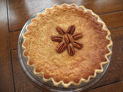 Photograph - Buttermilk Pecan Pie by Connie Fox