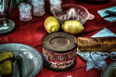 Butternut Cofee Art Print